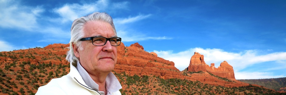 Stephen often hiked the trails through the red rocks of Sedona seeking inspiration.